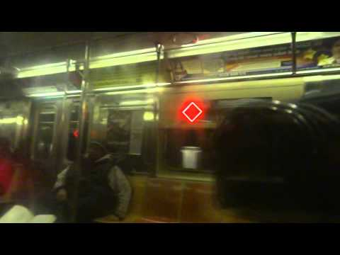NYC Subway Special: On-Board R62A # 1795 On The (4) From 125th Street To Wall Street