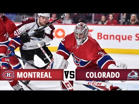 Montreal Canadiens vs Colorado Avalanche | Season Game 28 | Highlights (10/12/16)