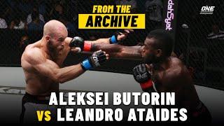 Aleksei Butorin vs. Leandro Ataides | ONE Championship Full Fight | September 2015