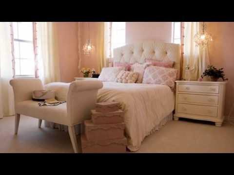 Cмотреть видео онлайн Интерьер спальни в стиле шебби шик