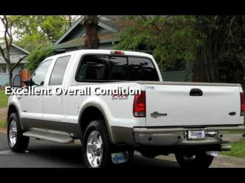 2006 ford f250 king ranch diesel truck 6 0l crew cab for for Zoom motors sacramento ca