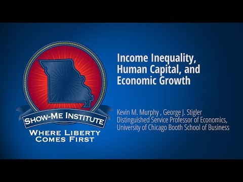 Speakers Series on Economic Policy: Income Inequality, Human Capital, and Economic Growth