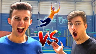 UN GAME OF SCOOT AU TRAMPOLINE PARK ! (en Trottinette)
