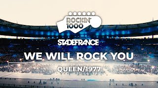 We Will Rock You - Queen / Rockin'1000 at Stade De France