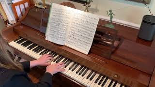 Eliana Barth - English Suite No. 2 in A Minor, Prelude, BWV 807 - J.S. Bach