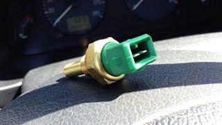 Changer Sonde de température d'eau Liquide de refroidissement - Voiture Broute Accélère Cale à Froid