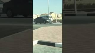 شاب ينزع لوحة شارع «نايف بن مالك» في الدمام ويرميها أرضاً (فيديو)