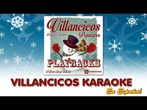Karaoke, Villancicos Instrumentales, Canciones de Navidad para Niños con Letra, Musica Navideña,noel