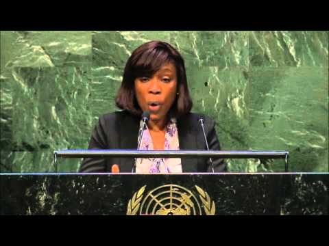 Ms. Shantal Munro-Knight - Caribbean Policy Development Centre - UN Post-2015 Interactive Hearings
