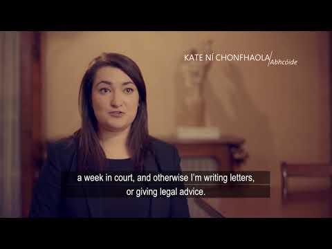 Foras na Gaeilge   Kate Ní Chonfhaola   Abhcóide
