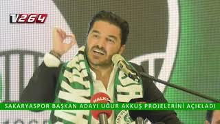 Sakaryaspor Başkan Adayı Uğur Akkuş Projelerini Açıkladı