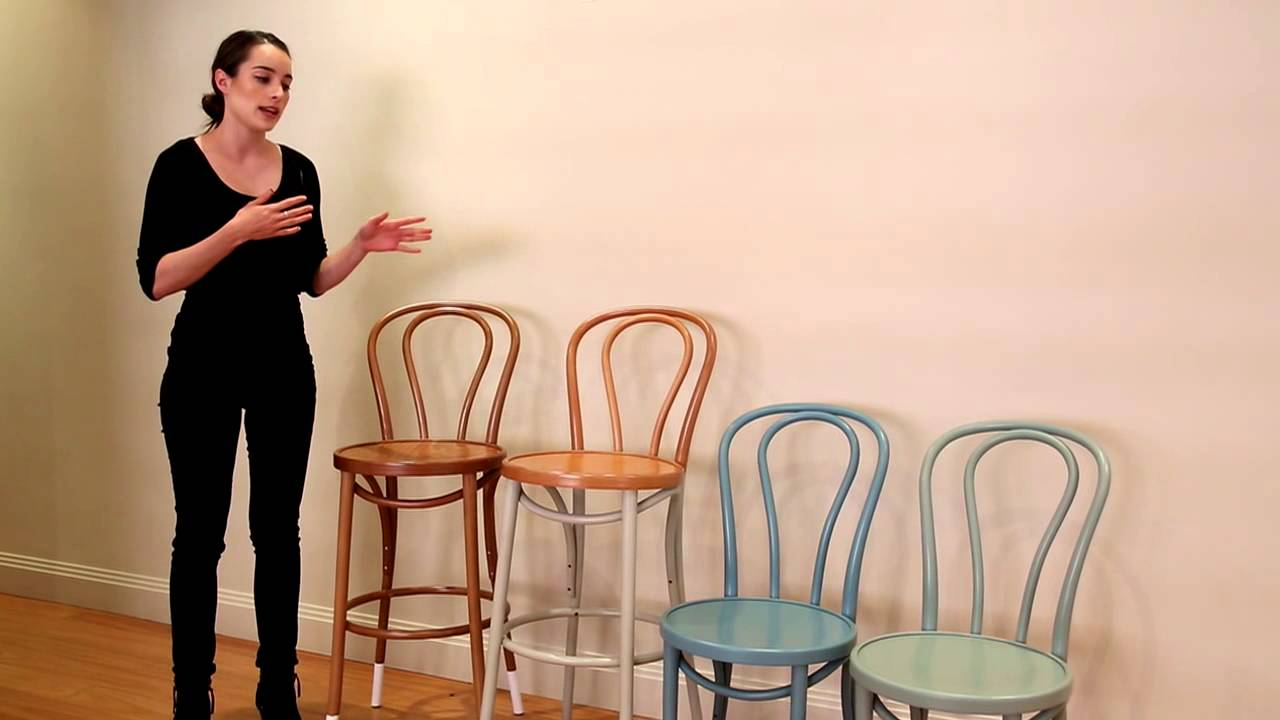 sc 1 st  YouTube & Bentwood Chairs and Stools by Michael Thonet - YouTube