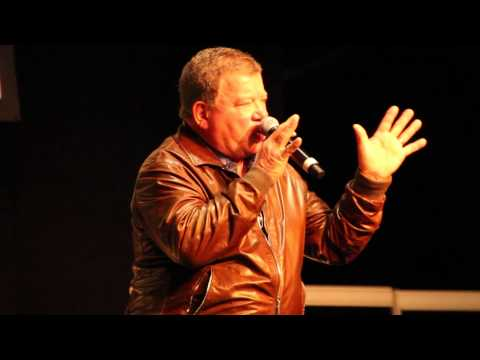 William Shatner Panel-Ausschnitt - Destination Star Trek Germany - SCIFINEWS-TV Live!