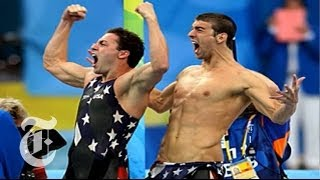 Olympics 2008: How Lezak Won Gold in 4x100-Meter Relay