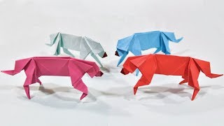Origami Dog | How to Make a Paper Dog