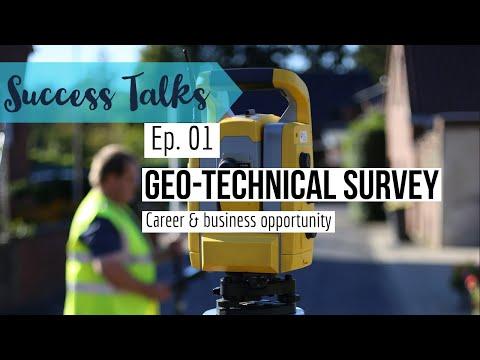 Geo-technical surveyor - Career & business opportunity जियो-टेक्निकल सर्वेयर - उद्योग रोजगार संधी