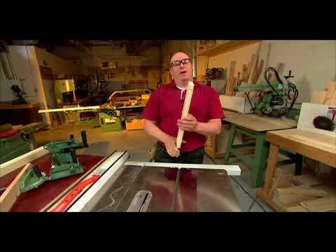 fabrication des tenons avec une tenonneuse