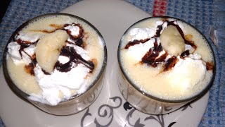 Custard milk shake very tasty and special for summer and for childrens by shine recipes