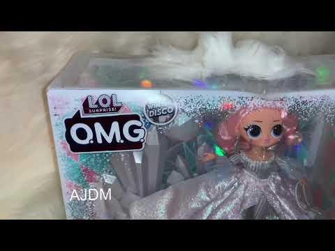 LOL Surprise OMG Doll Crystal Clear