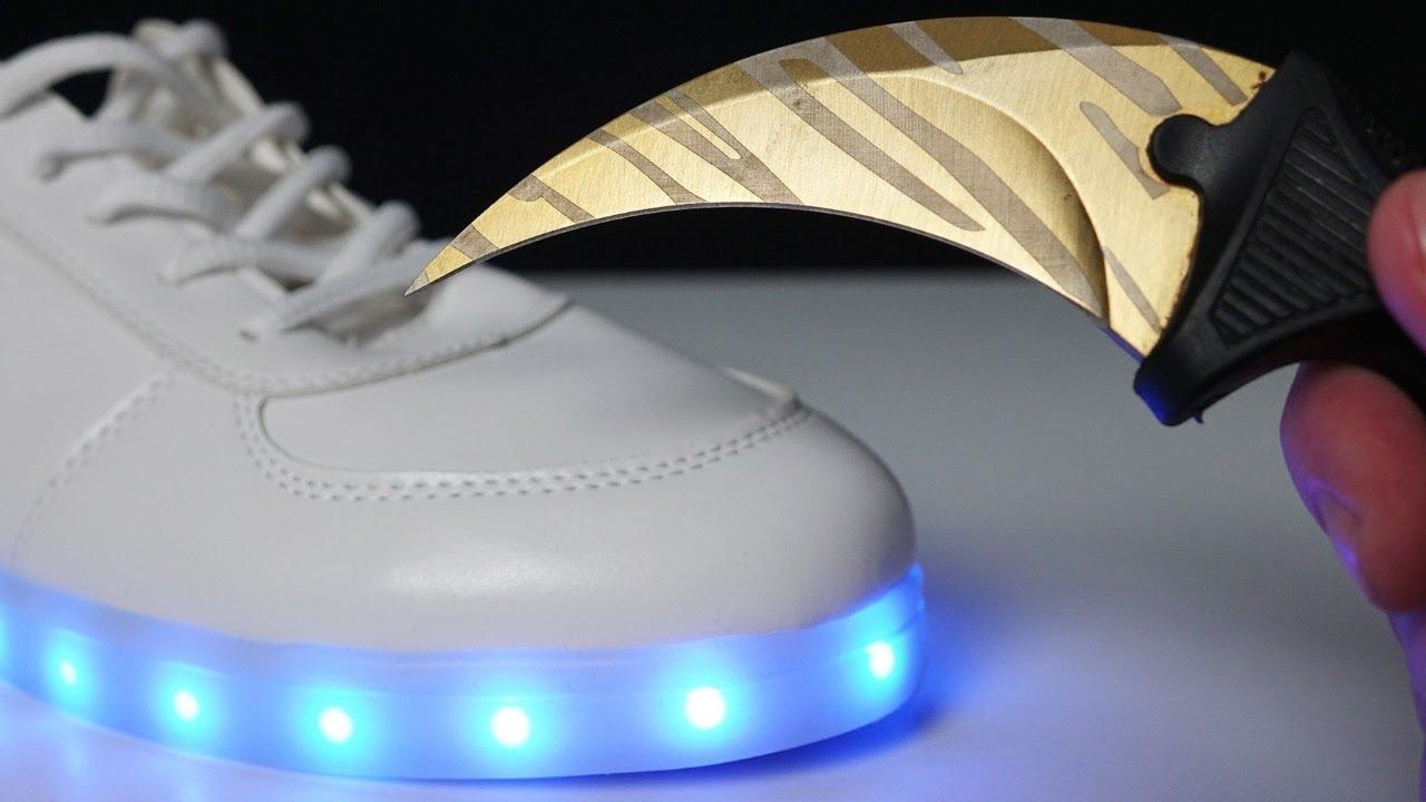 ¿QUE HAY DENTRO de estos TENIS LED?