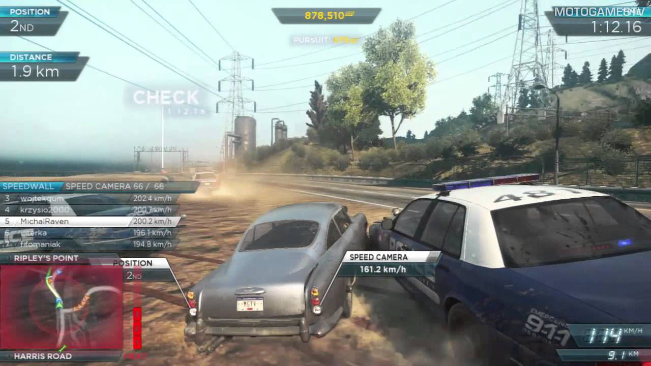 Need For Speed Most Wanted 2012 Aston Martin Db5 Gameplay Youtube