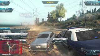 Need for Speed Most Wanted 2012 - Aston Martin DB5 Gameplay