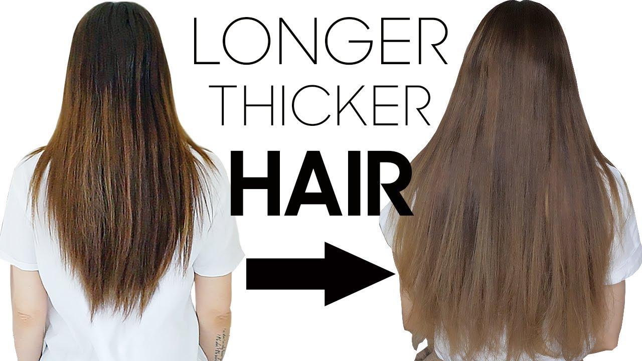 Grow Longer Hair Overnight? - YouTube