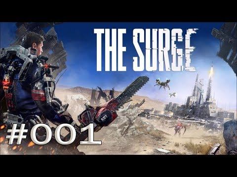 "The Surge #001 ""Erster Tag im neuen Job!"" Let's Play [deutsch/german blind]"