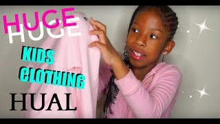 HUGE KIDS CLOTHING HAUL | VANS, CHAMPION, THE CHILDRENS PLACE