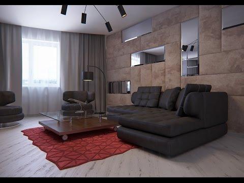 Дизайн-проект квартира-студии в городе Пушкино МО