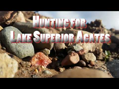 Hunting for Lake Superior Agates - (1lb Lake Superior Agate)