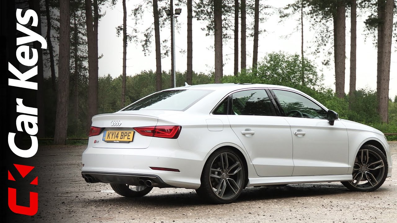 Audi A3 Sedan >> Audi S3 Saloon 2014 review - Car Keys - YouTube