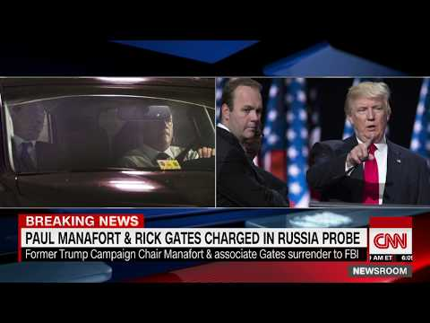 Indictment against Paul Manafort, Rick Gates unsealed
