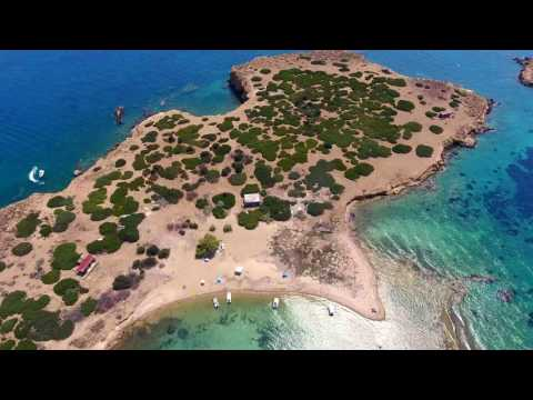 PHANTOM 4 - 4K video over Voula beach ATHENS GREECE