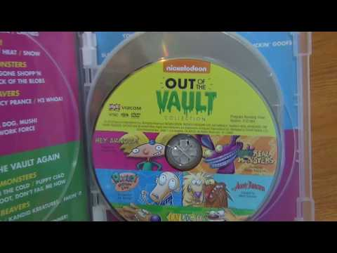 Nickelodeon Out of the Vault Fantastic 4-Pack Shout! Factory DVD Unboxing