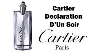 Cartier Declaration d'Un Soir fragrance/cologne review