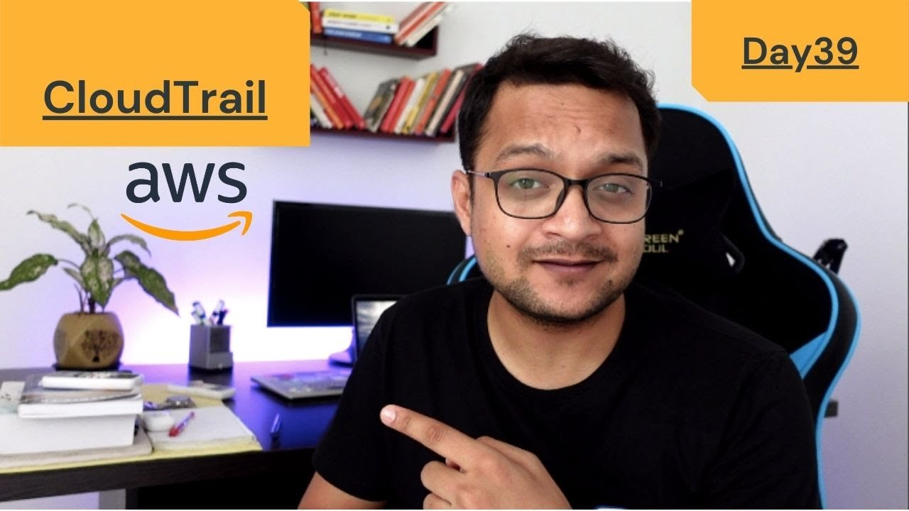 DAY 39 - 100 Days Of AWS | CloudTrail