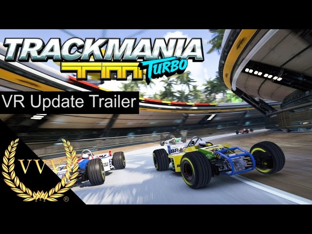 Trackmania VR Update Trailer