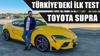 Türkiye'deki İlk Test | Yeni Toyota Supra