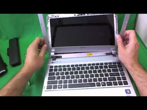 Sony Vaio S Series VPCS Laptop Screen Replacement Procedure
