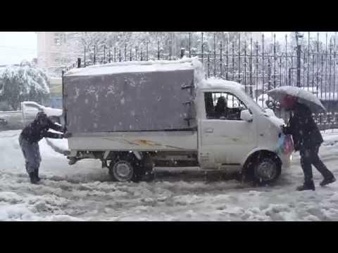 Blida sous la neige