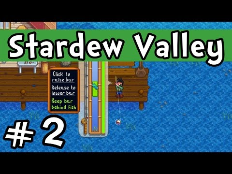 Save Stardew Valley E02 'The Art of Fishing!' (Gameplay Playthrough 1080p) Snapshots