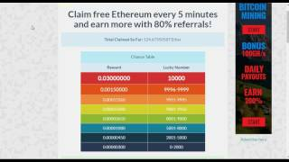 Earn Free Ethereum Coins - How To Store Ethereum Coins - Ethereum Wallet !
