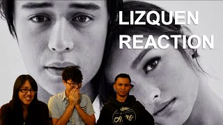 Foreigners React to Lizquen Filipino Loveteam