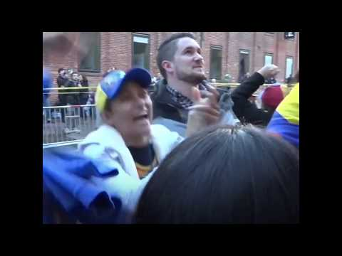Embassy standoff: US Police remove locks from the Venezuelan Embassy in Washington DC