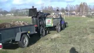 Rębak własej produkcji Akcja gałęzie