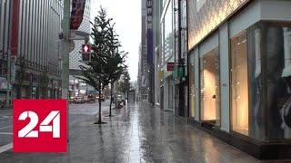 "Смотреть видео Тайфун ""Хагибис"": столица Японии замерла в ожидании удара - Россия 24 онлайн"
