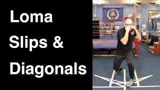 Boxing Techniques - Lomachenko Slips & Diagonals