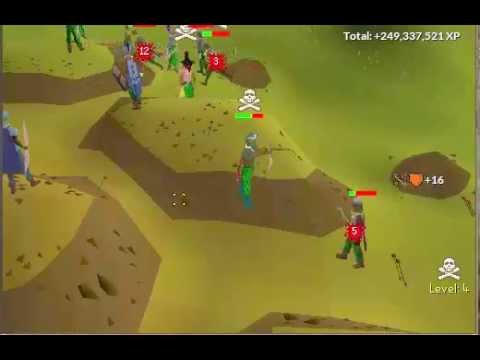 osrs how to train range f2p
