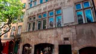 Франция. Лион - достопримечательности старого города.(, 2014-06-24T03:35:06.000Z)